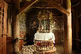Urnes_stavkirke_029_07202019 - The fancy altar within the Urnes Stave Church