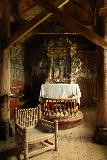Urnes_stavkirke_031_07202019 - Another look at the altar within the Urnes Stave Church