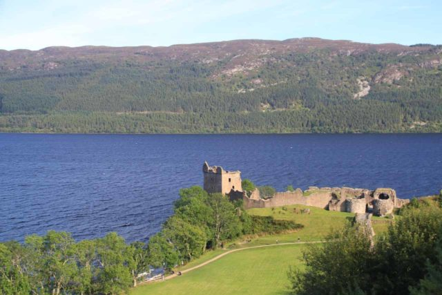 Urquhart_Castle_175_08262014 - While driving the A82 back towards Inverness from Skye, we managed to fit in a visit to Urquhart Castle, which overlooks Loch Ness and could very well be the most worthwhile Loch Ness excursion