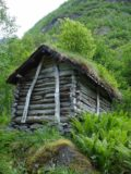 Utladalen_005_jx_06282005 - Julie noticed this other turf-roofed shack after leaving the Utladalen Naturhus