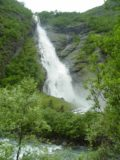 Utladalen_010_06282005 - The viewing angle of Avdalsfossen changed as we continued walking the trail