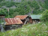 Utladalen_020_jx_06282005 - Amongst the tin-roofed buildings of the hamlet of Vetti