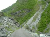 Utladalen_024_06282005 - Beyond Avdalsfossen, we then entered a rockfall-prone section of track