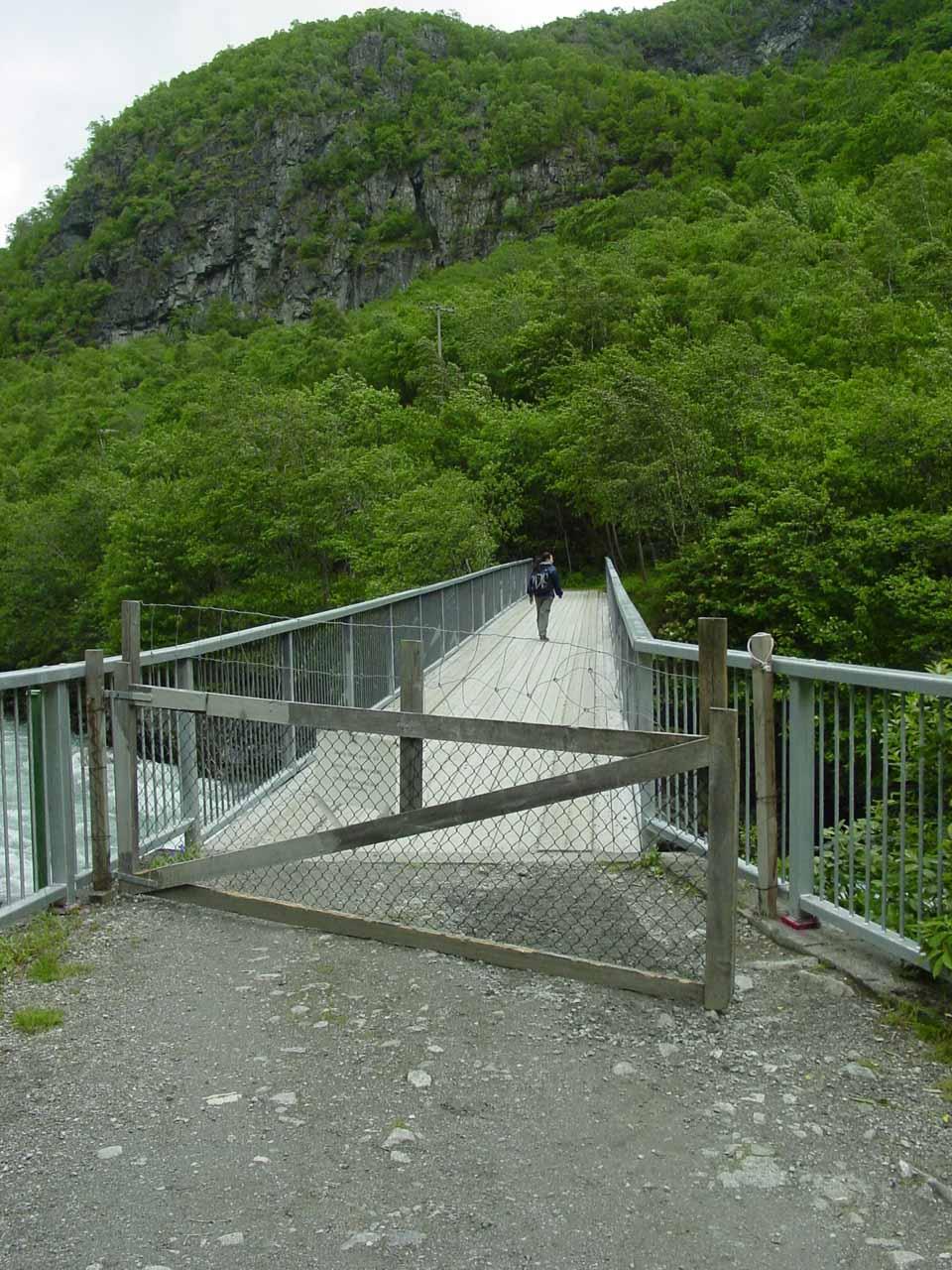The gated bridge