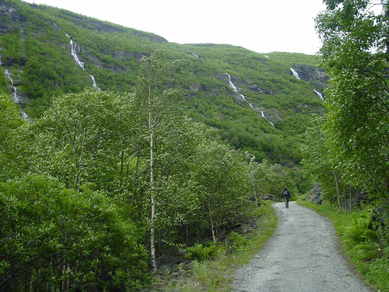 Lots of waterfalls along this trail as we got closer to Vetti