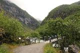 Utladalen_055_07212019 - The bridge at the end of the landslide-prone section, where the gate was kept open during my 2019 hike, but we actually had to open and close it on our 2005 hike