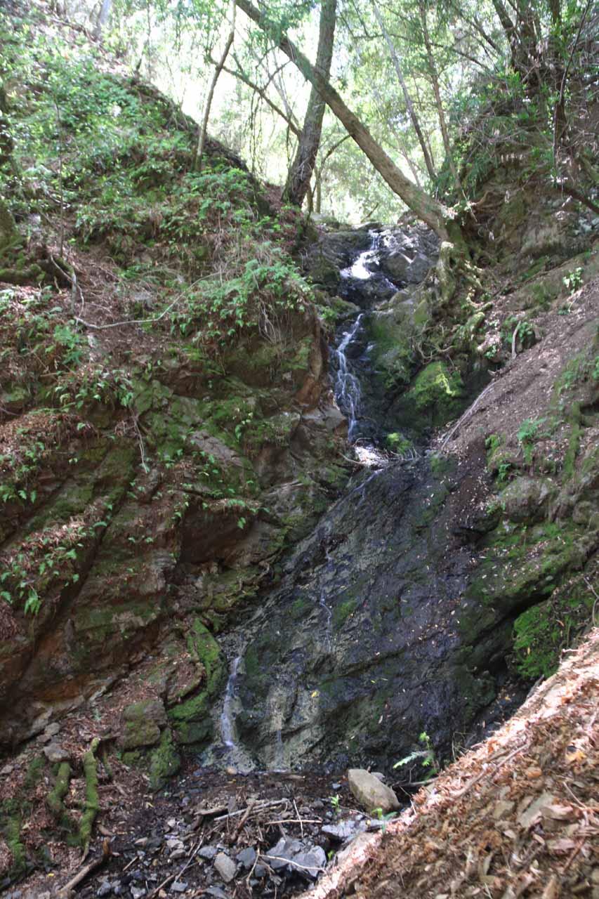 Triple Falls in low water flow