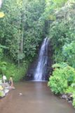 Vaipahi_Garden_006_20121215 - Some folks playing at the falls
