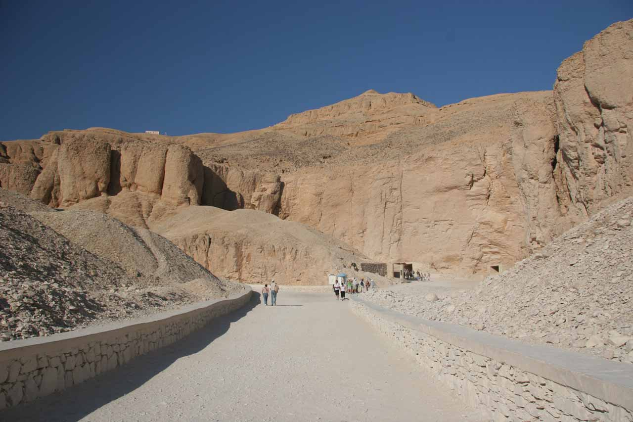 Walking in the Valley of the Kings