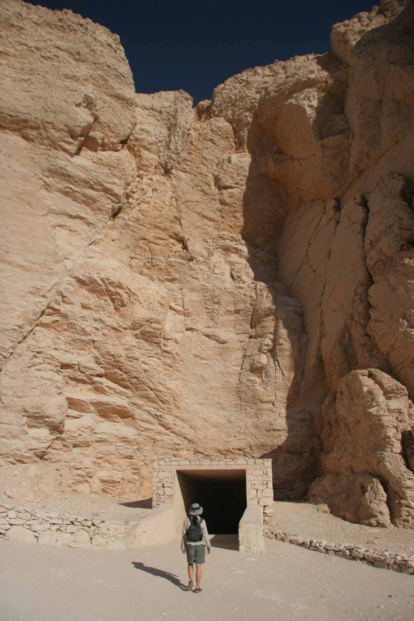 Entering another tomb