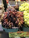 Vancouver_016_iPhone_07312017 - So-called tear drop grapes sold at the Granville Island Public Market