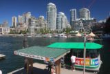 Vancouver_017_07312017 - Looking back at the Aquabus dock and the waterfront from Granville Island