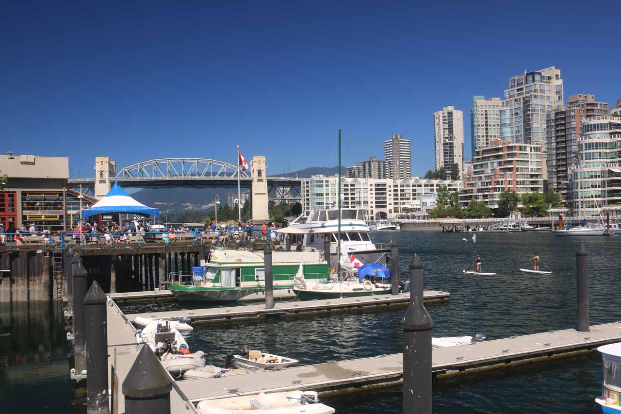 Another one of the memorable things about Vancouver was Granville Island, which featured an intriguing public market with all sorts of fresh produce, eateries, and baked goods
