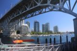 Vancouver_022_07312017 - Looking east beneath the arch of the road bridge over Granville Island