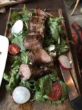 Vancouver_055_iPhone_07312017 - This was Julie's steak salad at Six Acres