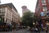 Vancouver_188_07312017 - Looking towards the Vancouver Lookout whilst approaching the Steam Clock in Gas Town