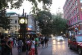 Vancouver_200_07312017 - The Steam Clock in Gas Town District of Vancouver attracted quite a crowd