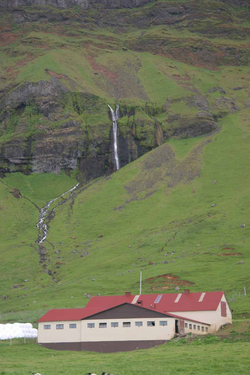 Interesting falls near the Varmahlið farm
