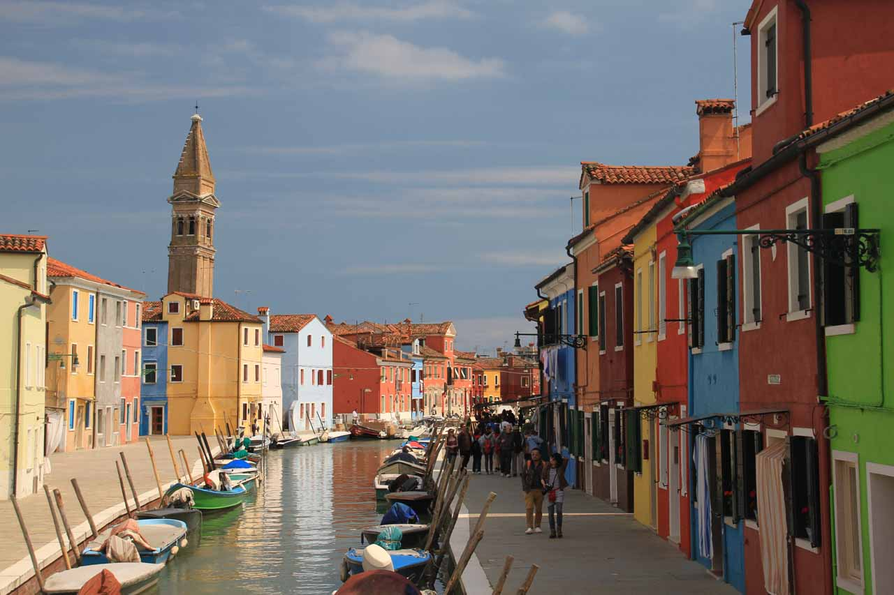 Prior to visiting Trento and the Alto Adige part of Northern Italy, we had spent a magical time exploring Venice and Burano, and as you can see in this picture, there's no place in world quite like it