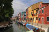 Venice_193_20130528 - A lot of boats were parked in the quiet canals of Burano