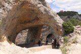 Ventano_del_Diablo_014_06042015 - Approaching the double-arched Ventano del Diablo