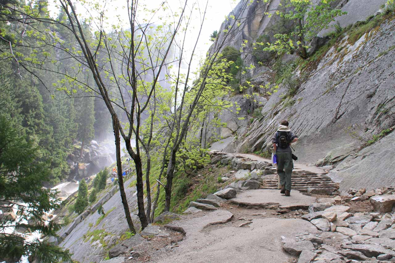 The trail beyond the Lady Franklin Rock detour