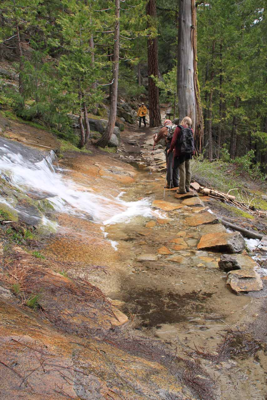 Flooding on the JMT