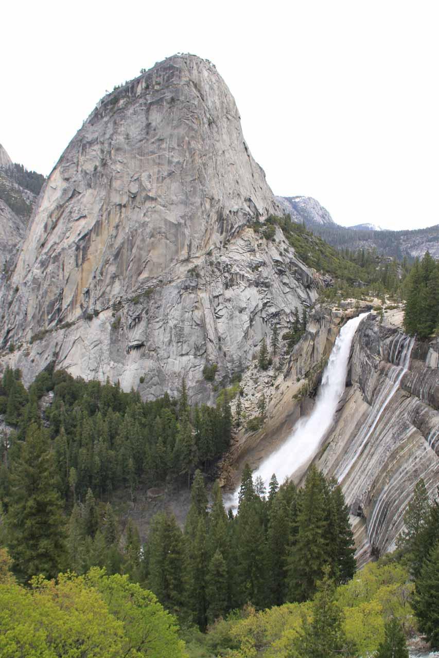 A more recent look at the Liberty Cap Nevada Falls combo