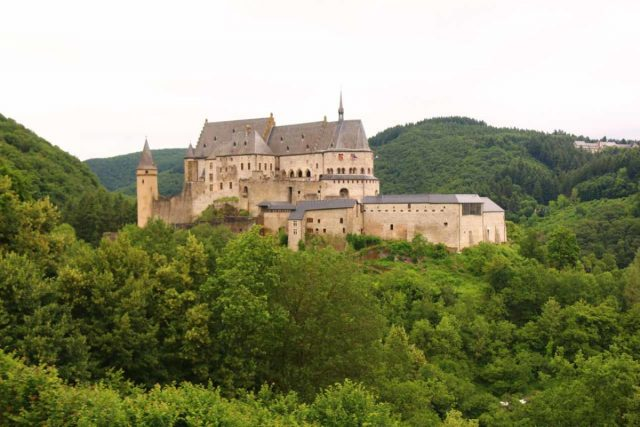 Vianden_Castle_004_06192018 - On the other side of the international border from the German side of the Moselle Valley was the Vianden Castle, which was an interesting place to visit a little over an hour's drive north of Luxembourg City