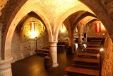 Vianden_Castle_186_06192018 - Some kind of cellar that doubled as both a bar as well as some kind of religious thing, I think, at Vianden Castle