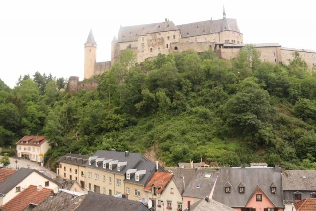 Vianden_Castle_215_06192018 - The Schiessentumpel Cascade was roughly half-way between Luxembourg City and the Vianden Castle (shown here)
