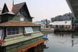 Victoria_BC_450_08032017 - Looking towards one of the intriguing houseboats at the Fisherman's Wharf in Victoria