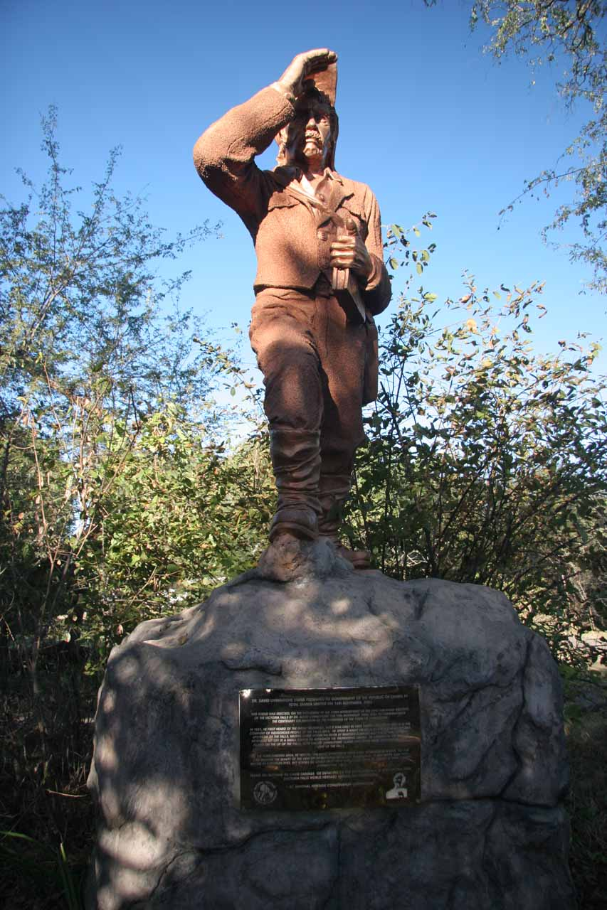 The David Livingstone statue