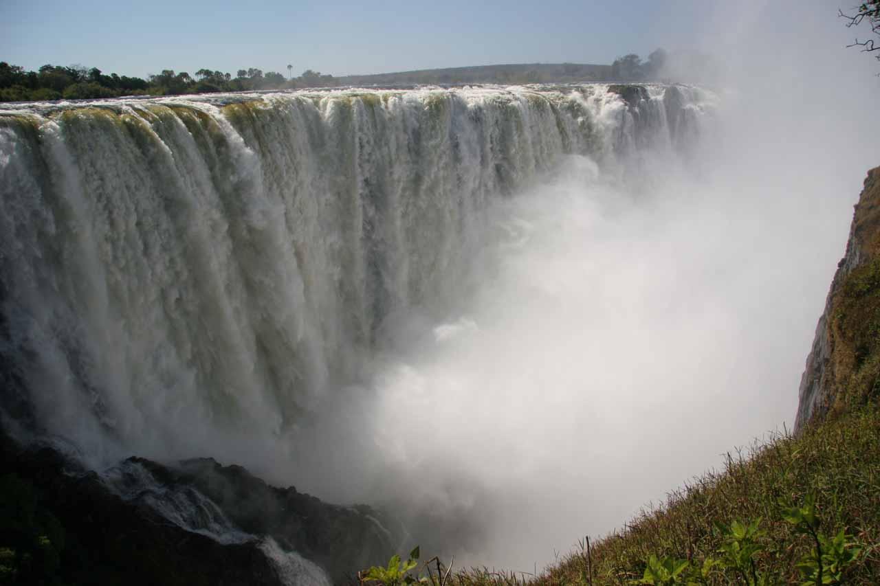 Closeup of the Main Falls