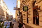 Vienna_079_07072018 - Entering the Zum Wohl Restaurant in Vienna