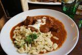 Vienna_084_07072018 - This was the beef gulash dish that was probably the best dish that we got at Zum Wohl in Vienna