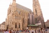 Vienna_230_07082018 - Making it to the busy Stephansplatz seemingly at the heart of Vienna