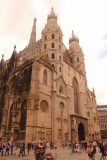 Vienna_281_07082018 - Back outside looking at the commanding St Stephans Cathedral in Wien