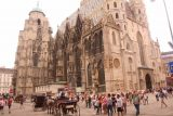 Vienna_286_07082018 - Another look across the St Stephans Cathedral from Stephansplatz in Vienna but this time from its more northern side