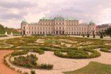 Vienna_458_07082018 - Looking back across the garden towards the Upper Belvedere in Wien