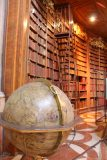 Vienna_731_07092018 - Checking out a pretty cool old school globe within the State Room Library in Vienna