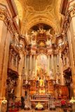 Vienna_876_07092018 - Looking right up at the altar of the St Peters Cathedral in Vienna