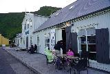 Vik_042_08082021 - Our little makeshift outdoor seating arrangement at Halldorskaffi to avoid the crowd inside the restaurant