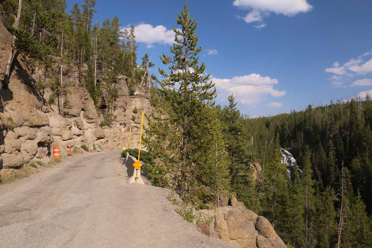 Contextual look at the Virginia Cascade and the narrow road