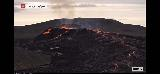 Volcano_webcam_025_iPhone_08212021 - Checking out some activity via the webcam of the Fagradalsfjall Volcano which seemed a bit more active than what we saw a couple of nights ago
