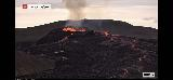Volcano_webcam_041_iPhone_08212021 - Checking out some activity via the webcam of the Fagradalsfjall Volcano which seemed a bit more active than what we saw a couple of nights ago