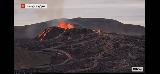 Volcano_webcam_061_iPhone_08212021 - Checking out some activity via the webcam of the Fagradalsfjall Volcano which seemed a bit more active than what we saw a couple of nights ago