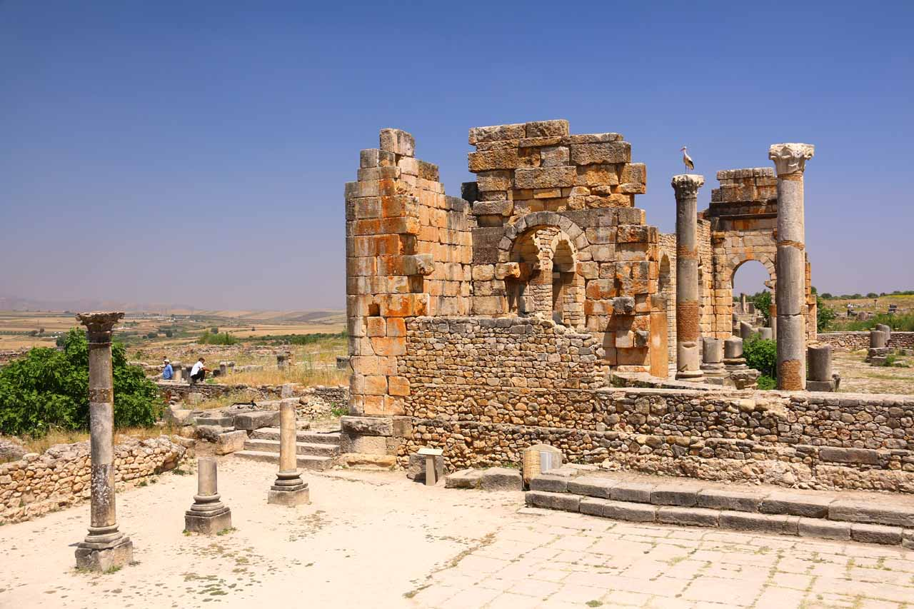 Just north of Meknes and northwest of Fes were the Roman ruins of Volubilis, which was yet another surprising aspect of our visit to Morocco