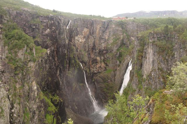 Voringsfossen_014_06242019 - This was the lower view of Vøringsfossen as seen in June 2019, which seemed to have a bit less volume than on our first visit in June 2005