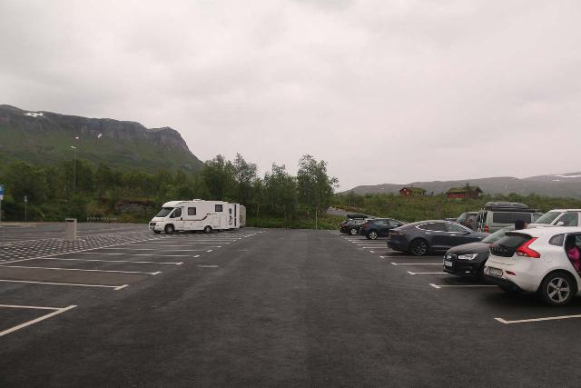 Voringsfossen_047_06242019 - Similarly, we also had a lot of parking spots to choose from at the car park for the Fossli Hotel, which sat near the brink of Voringsfossen